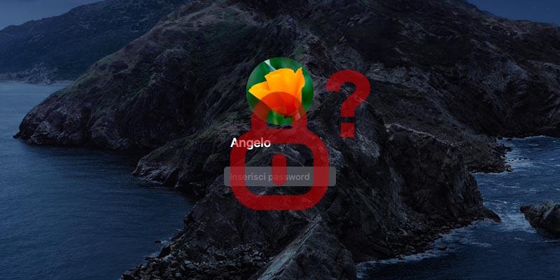 Come recuperare password Mac