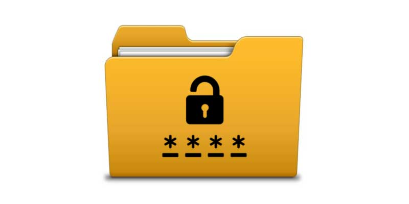 mettere-password-a-cartella