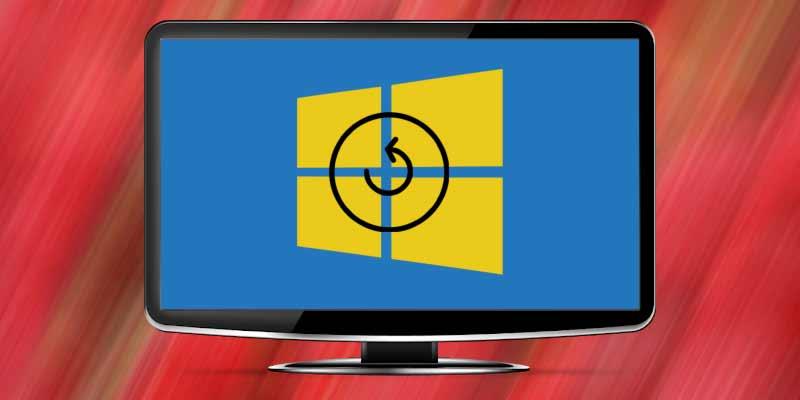 Ripristino impostazioni di fabbrica Windows 10