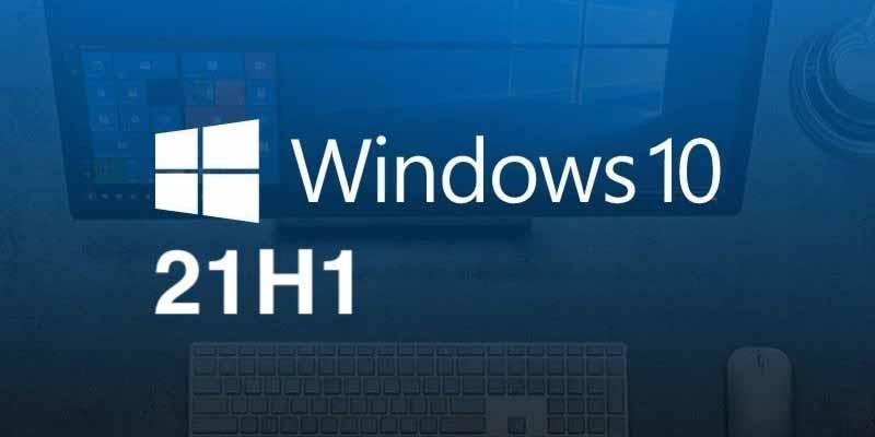 eseguire l'aggiornamento a Windows 10 21H1