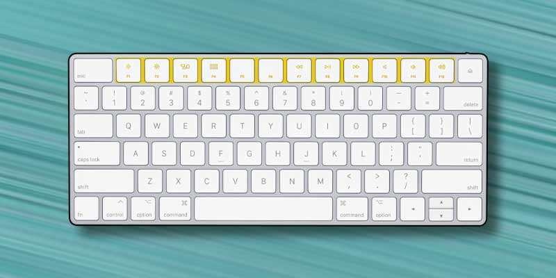 tasti funzione del Mac